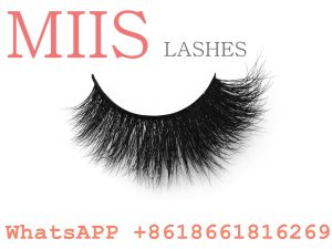 new style colorful lashes with packaging